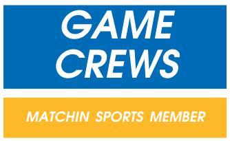 メンバー不足のチームと、スポーツしたい人のマッチング|GameCrews ロゴ